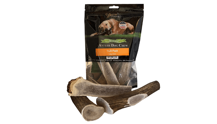 Elk Antler Dog Chews by Pound by Deluxe Naturals