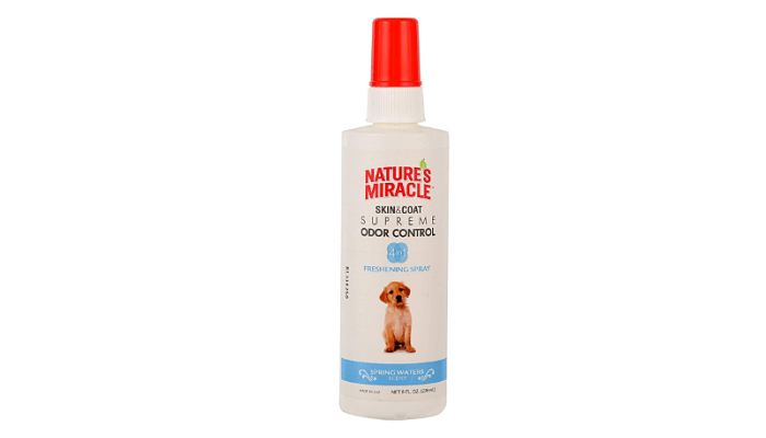Skin & Coat Supreme Odor Control Freshening Spray by Nature's Miracle